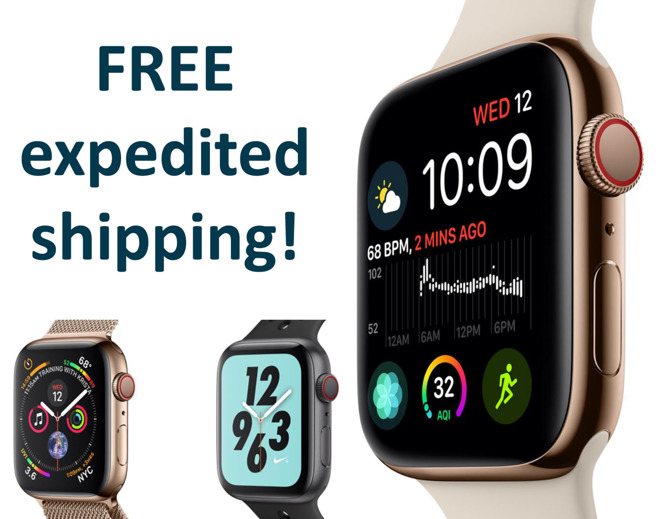 Save up to $70 on the Apple Watch Series 4 on