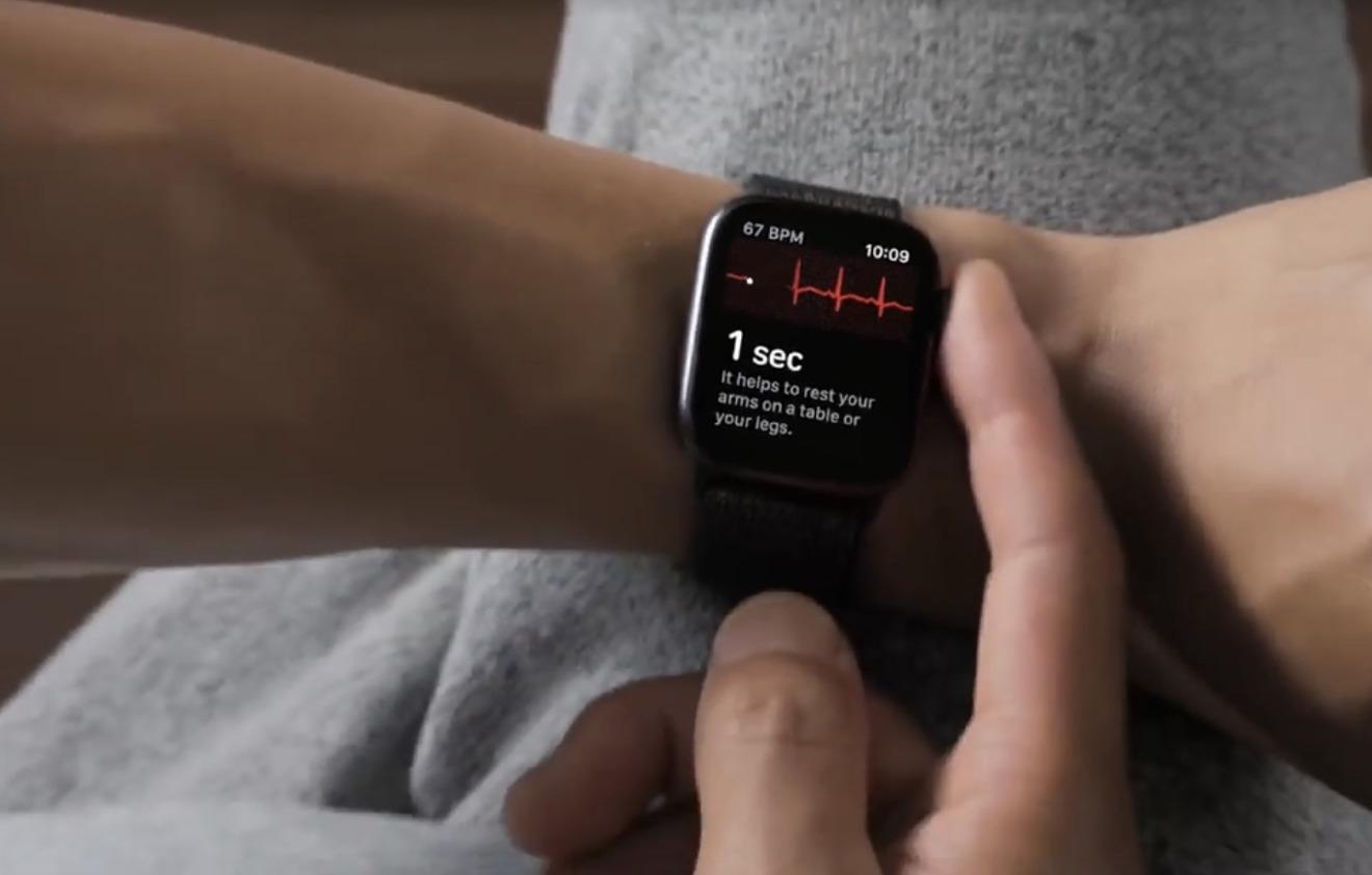 Apple Watch Series 4 ECG Heart Rate
