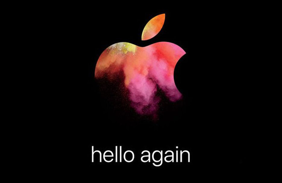 Detail from Apple's 2016 October invitation
