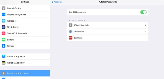Inside iOS 12: AutoFill gives password manager apps on your iPhone a