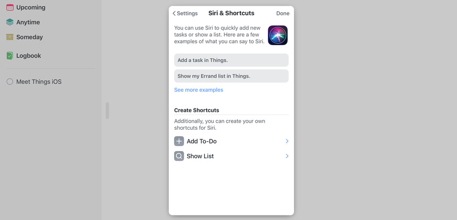 Things 3 on iPad