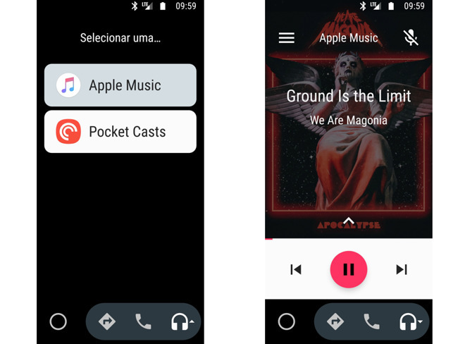 Apple Music now supports Android Auto, song search by lyrics
