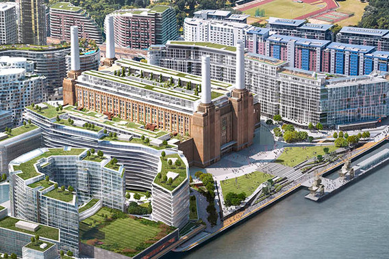 Construction delays leave Apple's iconic London Battersea
