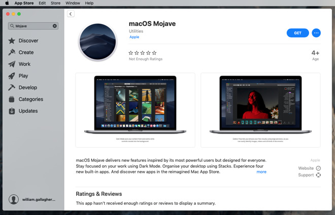 learn how to install latest macos from apple store