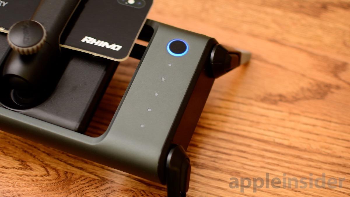 ROV Pro power button