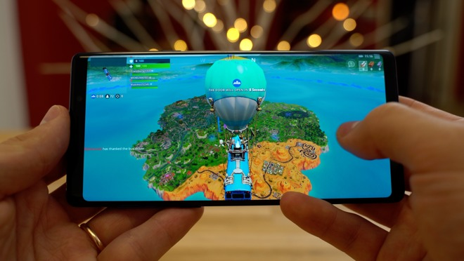Rematch: iPhone XS versus Samsung Galaxy Note 9 for 'Fortnite' gaming