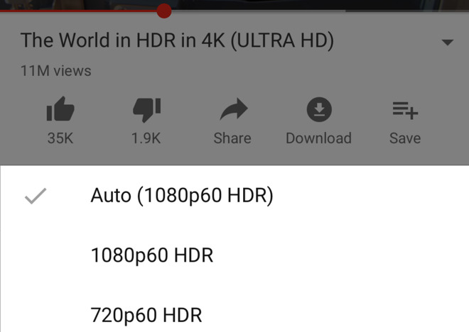 YouTube for iOS gains HDR support for iPhone XS and XS Max, still