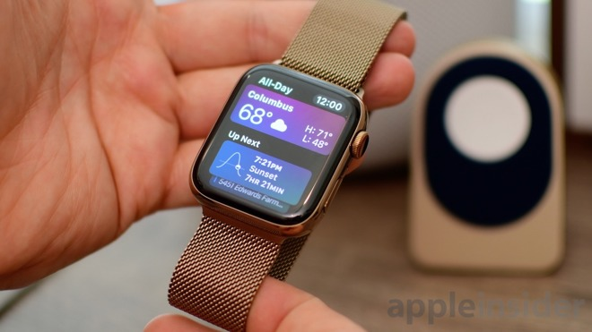reputable site 97132 6a8ac Hands on with Apple's ornate gold Milanese loop for the Apple Watch
