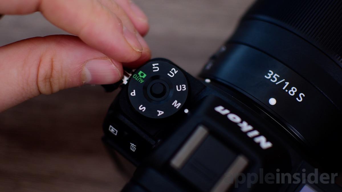 Nikon Z7 Mirrorless exposure modes