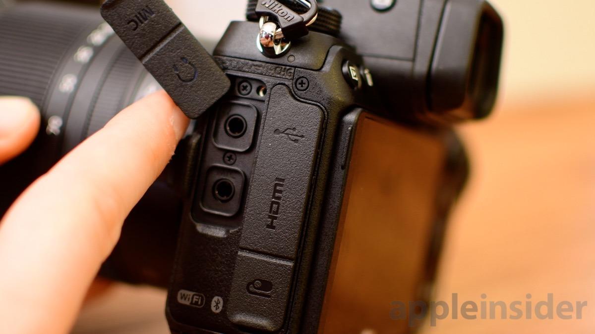 Nikon Z7 Mirrorless ports