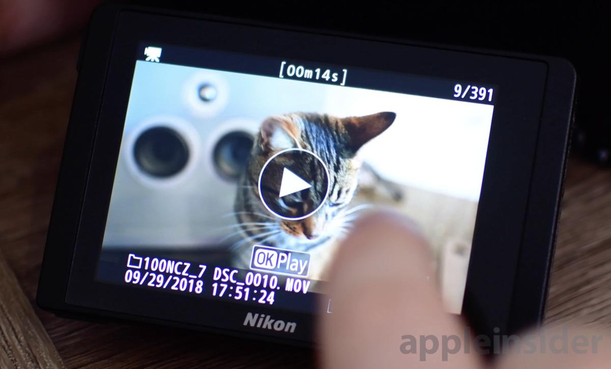 Nikon Z7 Mirrorless video