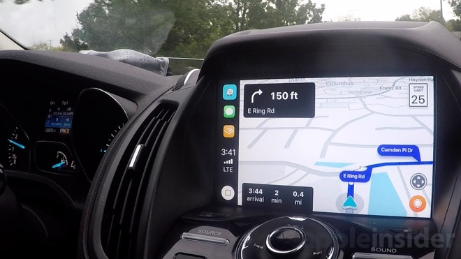 Hands on: Use your iPhone and Apple CarPlay to access Waze while driving