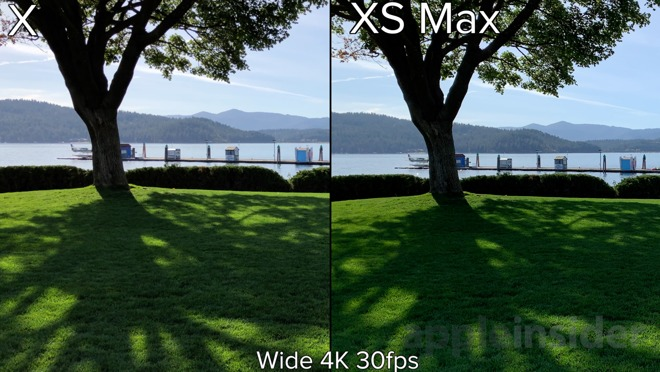 Compared: iPhone XS Max video quality trounces iPhone X