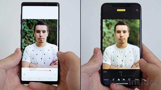 Photo smackdown: iPhone XS Max versus Samsung's Galaxy Note 9