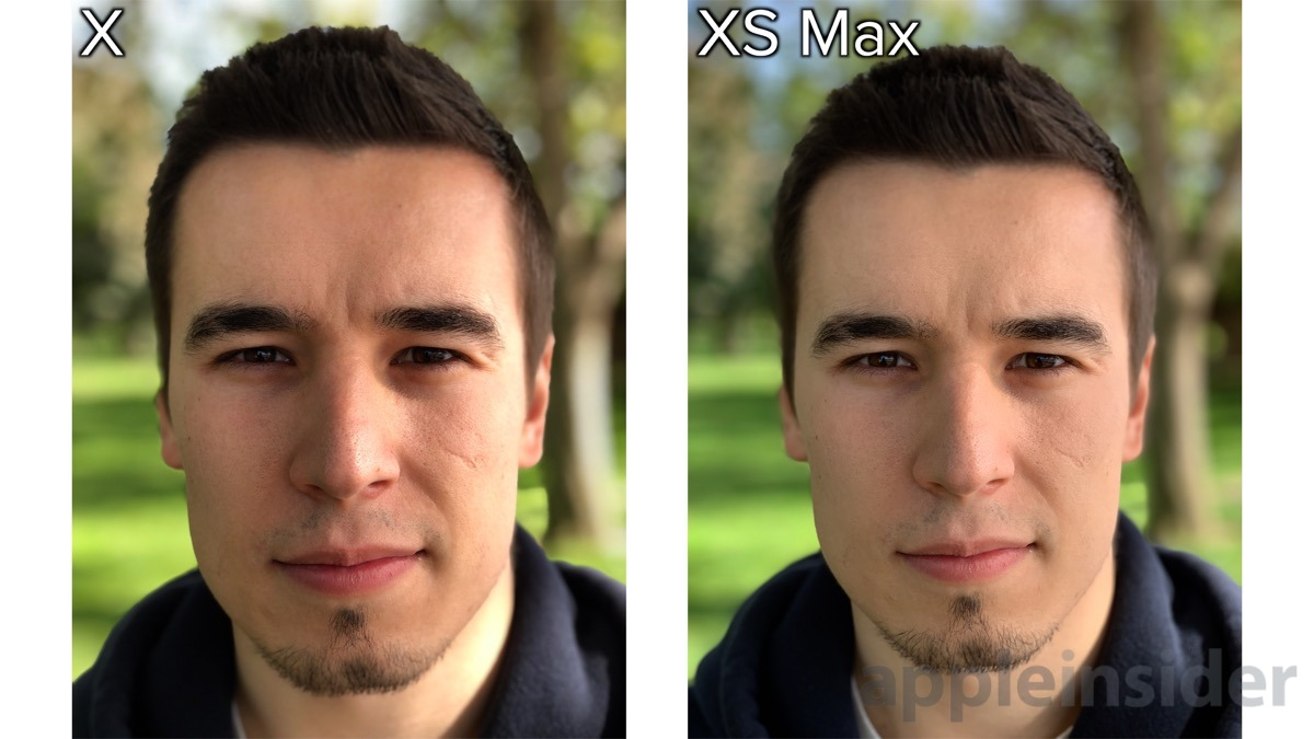 iPhone XS minimum portrait distance
