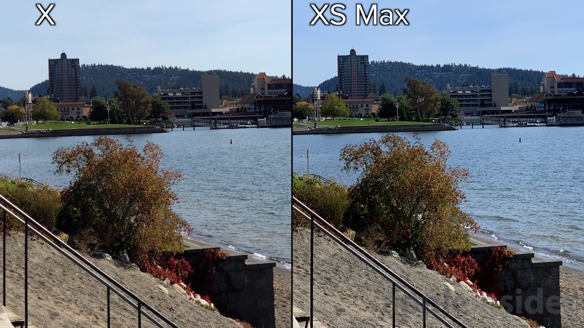 iphone xs telephoto lens detail comparison