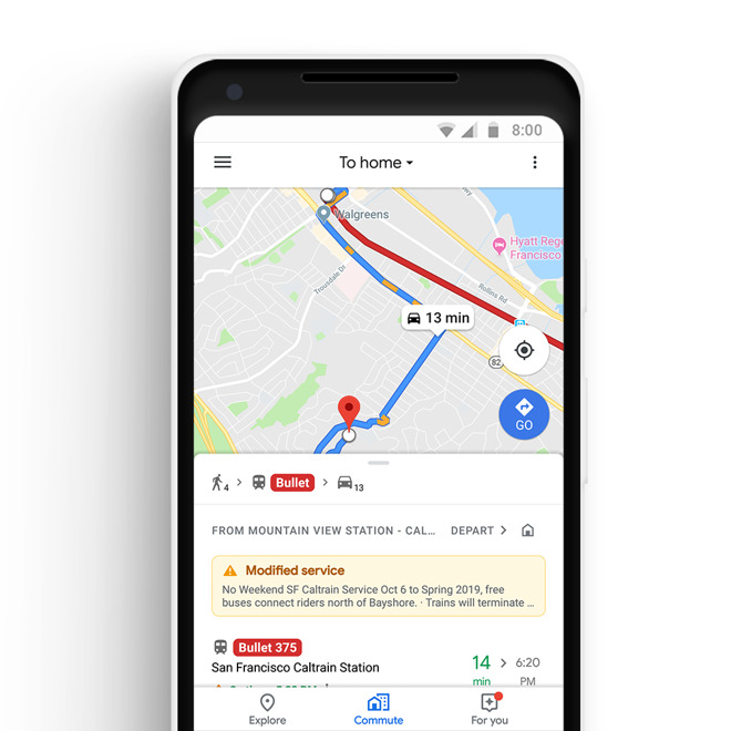 Google Maps for iPhone gains Apple Music controls, new