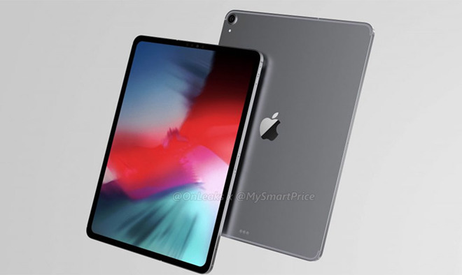 Renders of a purported iPad Pro redesign