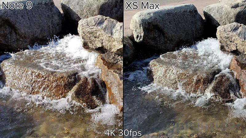 iPhone XS 4K