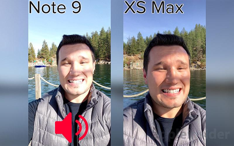 iPhone XS Selfie Camera Dynamic Range