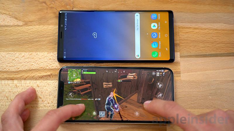 iPhone vs Galaxy Audio