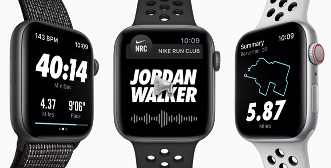 Gallina muy judío  Apple Watch Nike+ Series 4 out now, limited supplies at retail |  AppleInsider