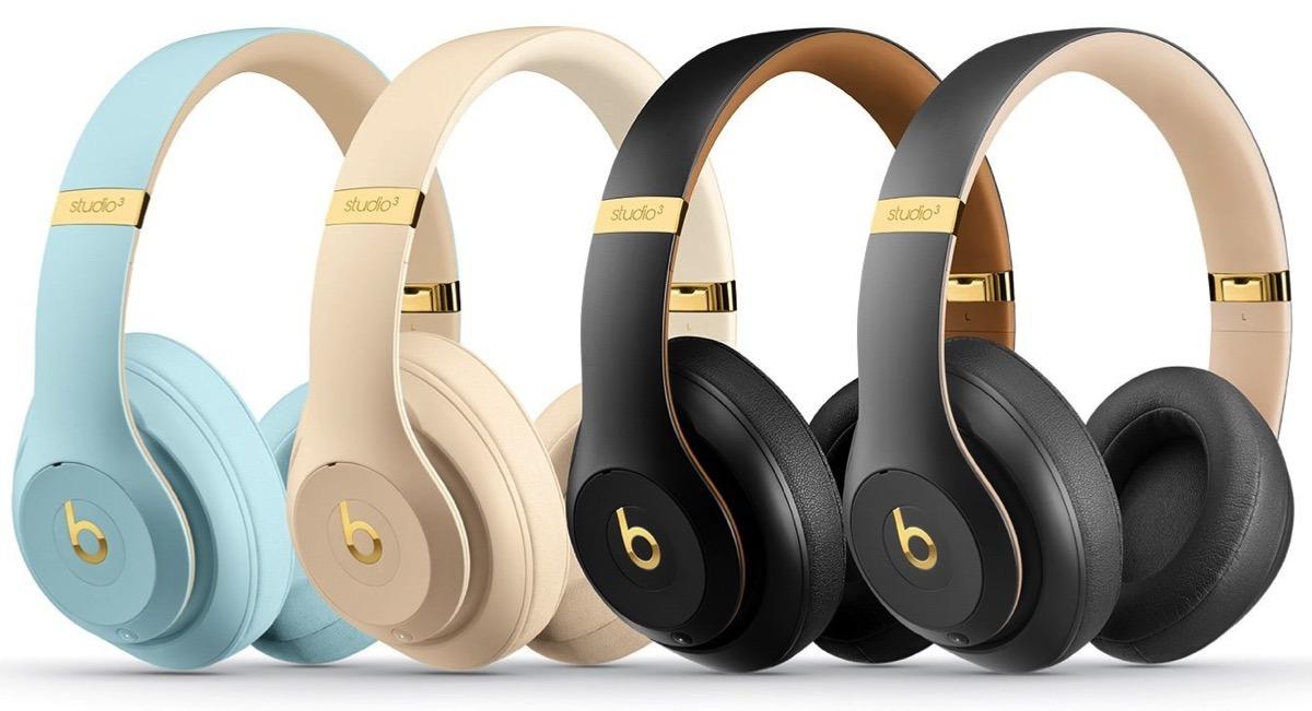 Beats Studio 3 Skyline Wireless Headphones Debut In New Colors With Gold Trimmings Appleinsider