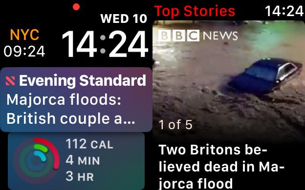 Apple News on Apple Watch