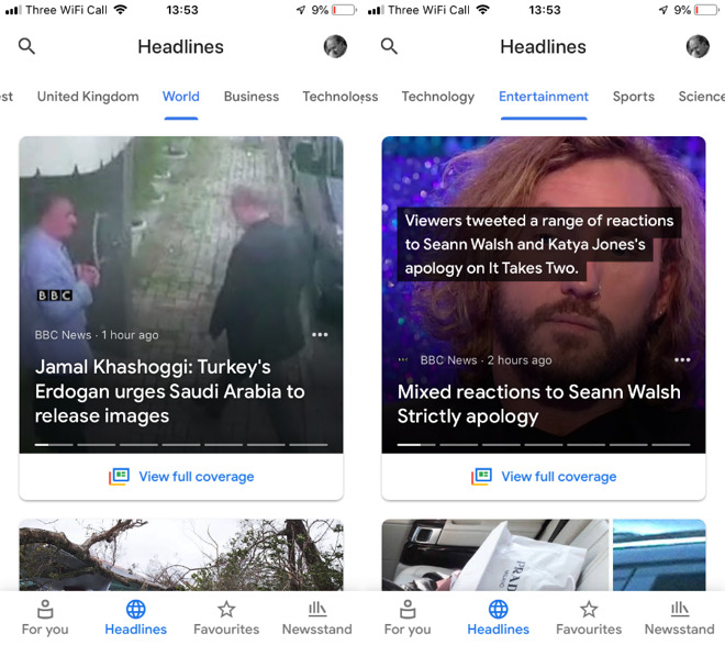 Compared: Apple News versus Google News and Microsoft News -- which