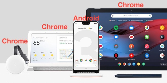 Google is downplaying Android to focus its future on Chrome OS