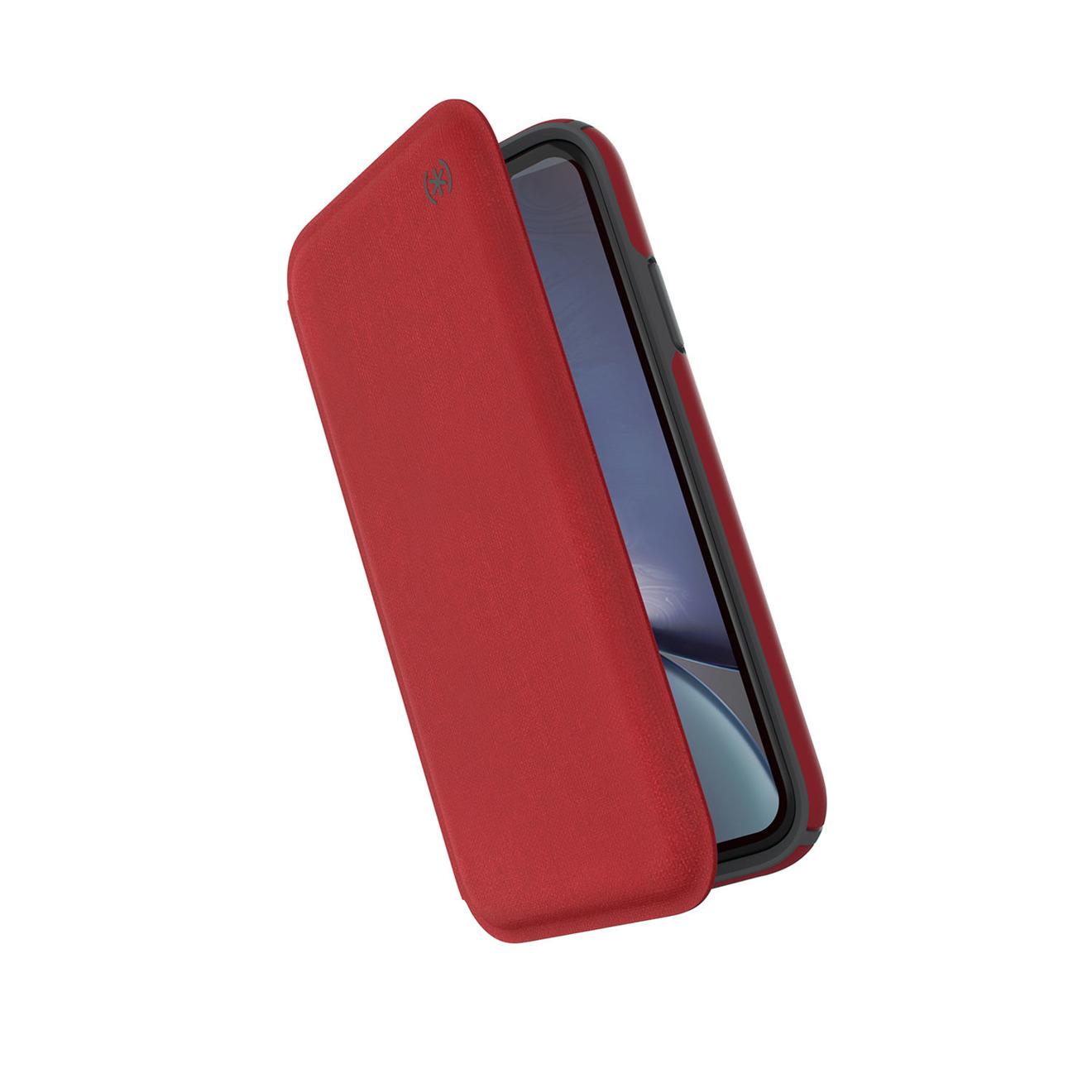 Speck Presidio Folio case for iPhone XR