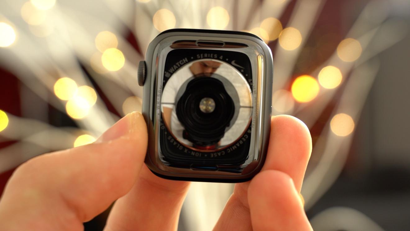 Apple Watch Series 4 sensor