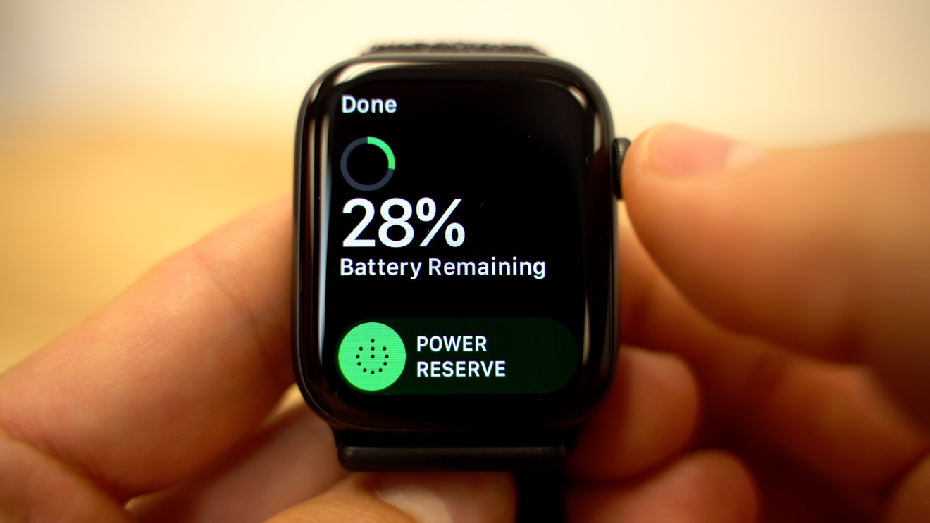 After two days, the Apple Watch Series 4 is still going