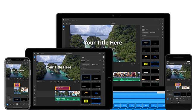 Adobe announces Photoshop CC for iPad, debuts Premiere Rush