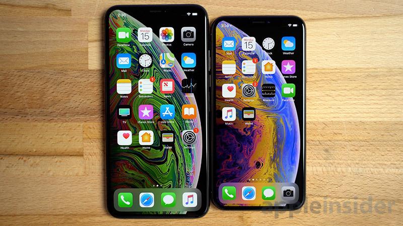 iPhone XS Max UI