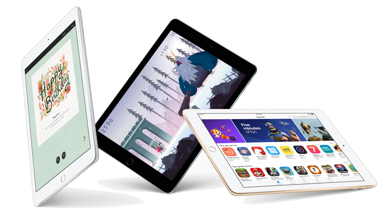 Apple 2017 iPad with LTE cellular