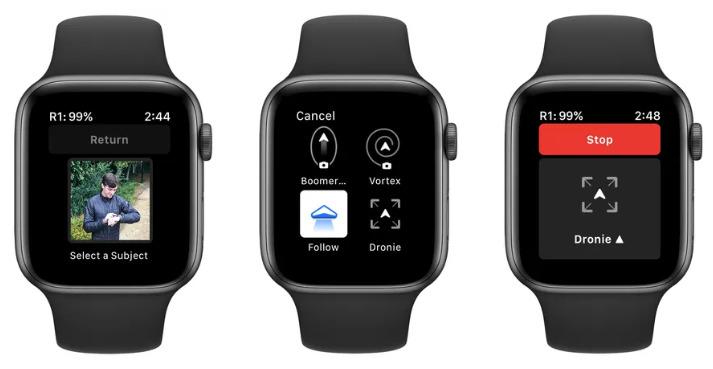 Skydio on Apple Watch