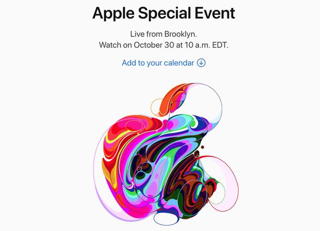 Apple Event October 30 2018
