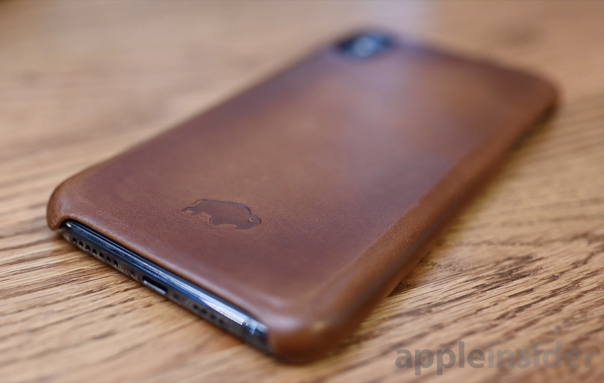 Burkley leather shell case