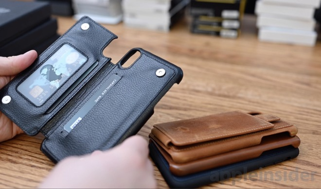 best iphone xs leather wallet case