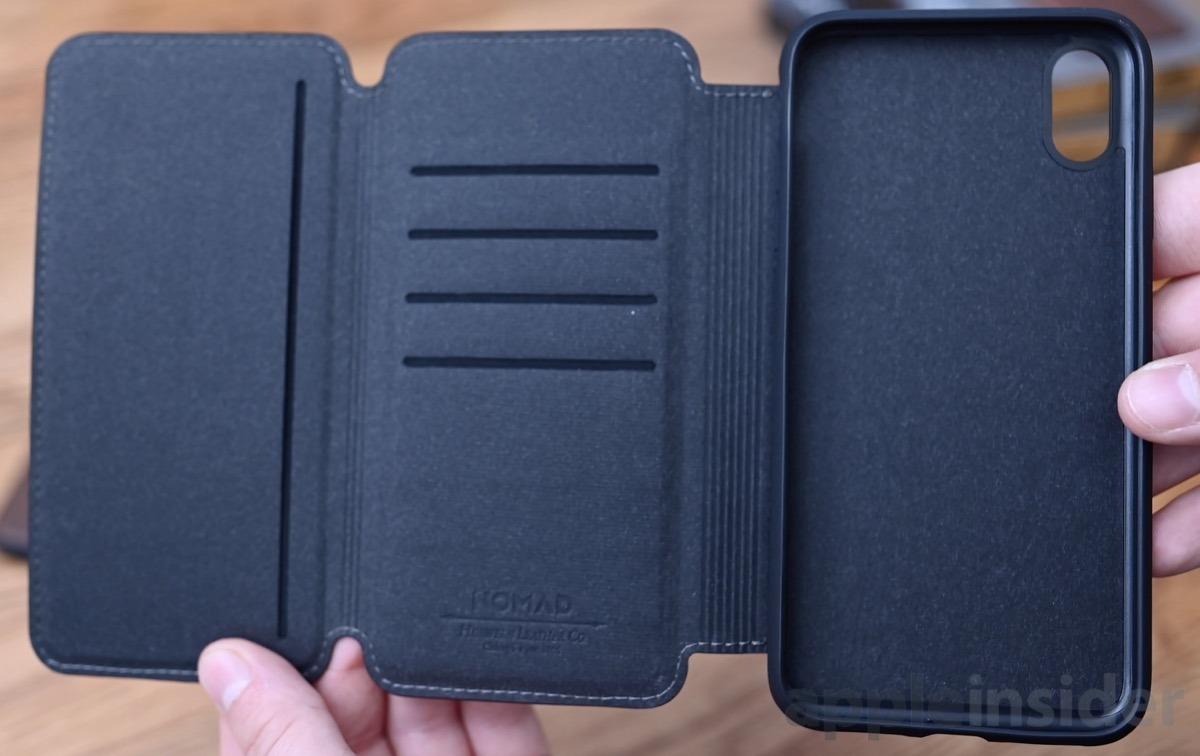 Nomad Rugged Tri Folio iPhone XS Max case