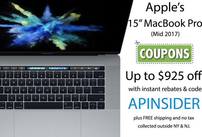 macbook pro coupons for students