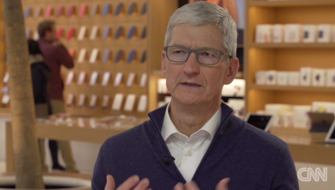 Tim Cook speaking about the data-industrial-complex