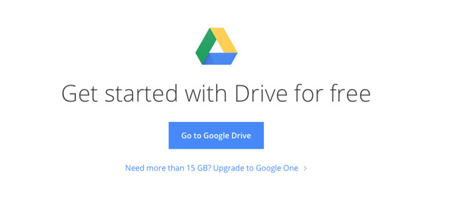 Google Drive users get 15GB free space