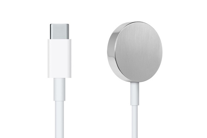 Newly released USB-C Apple Watch charging cable