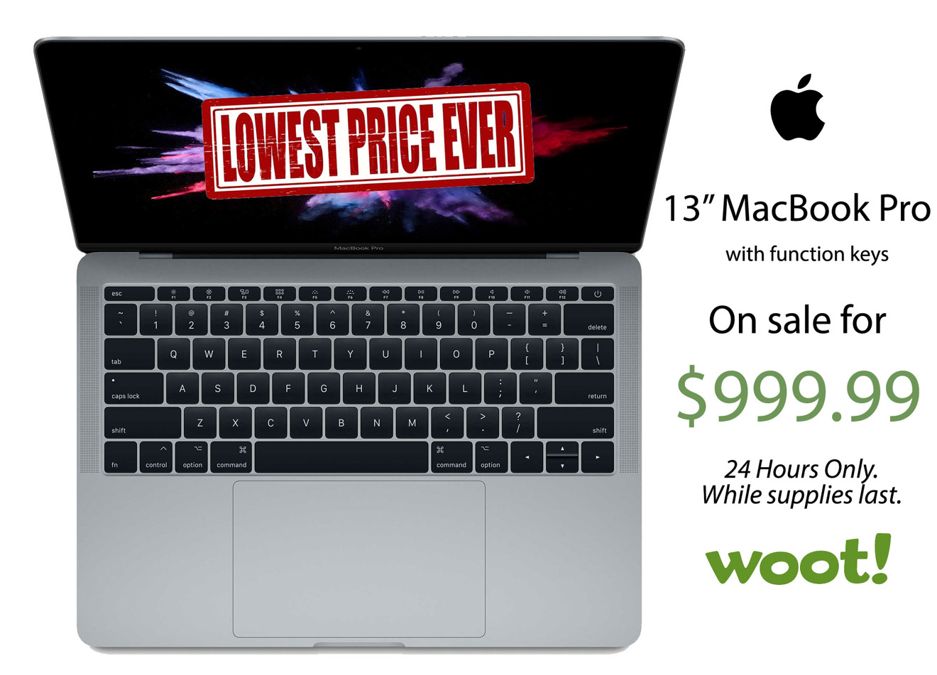 Lowest price ever: Apple's current 13-inch MacBook Pro on ...