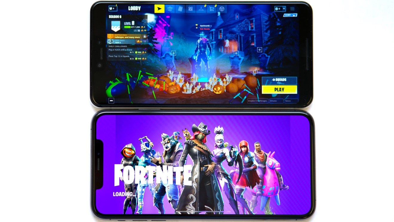 can iphone 6 play fortnite