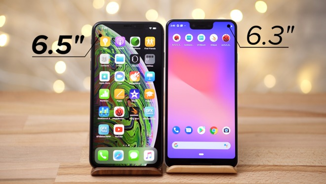 Google's Pixel 3 XL is no match for Apple's iPhone XS Max at