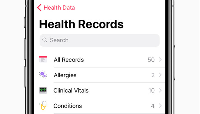 labcorp health sciences testing integrates apple health records support