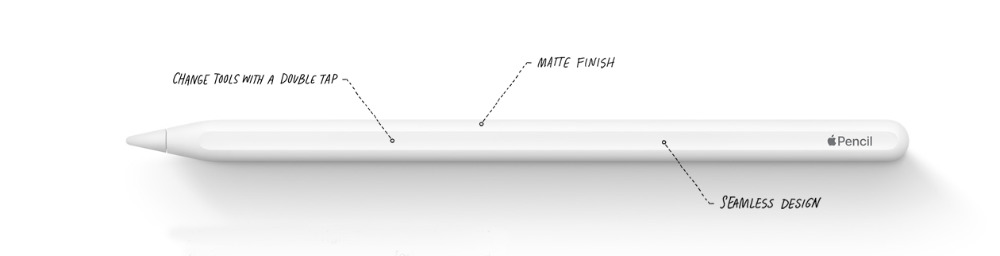 Detail from the new Apple Pencil